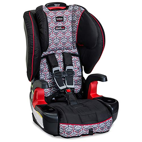 Britax Frontier ClickTight Harness-2-Booster Car Seat - 2 Layer Impact Protection - 25 to 120 Pounds, Baxter (Britax Pink Car Seat)