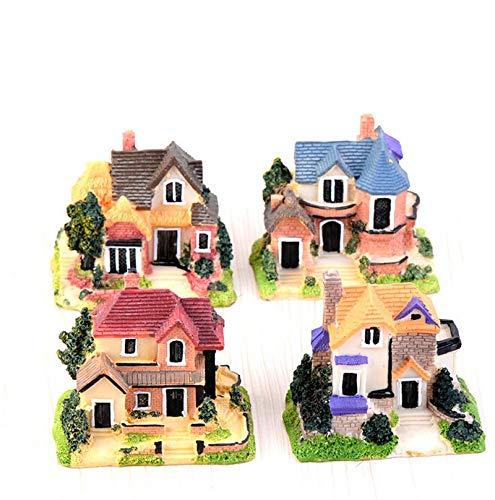 Ochoos Big House Figuras Continental Manor Mini Hada Jardín y Acuario Pecera Animales Estatua Resina Craft TNB031: Amazon.es: Hogar