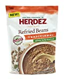 Herdez Instant Refried Beans Traditional Pouch (Pack of 3) - 5.4 oz