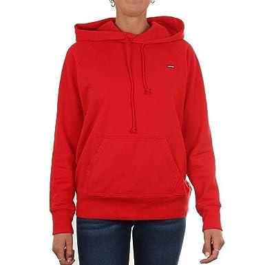 Levis 34781 Sportswear Hoodie Sudadera Mujer Red S: Amazon.es: Ropa y accesorios