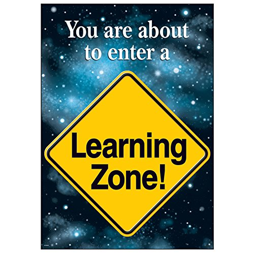 (Trend Enterprises T-A67002BN 13.37 x 19 in. 6 Piece Poster - You are About to Enter a Learning Zone )