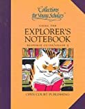 img - for Collections for Young Scholars USING The EXPLORER'S NOTEBOOK RESPONSE GUIDE TEACHER's Edition Grade 5 (Collections for Young Scholars Teacher's Edition Response Guide) book / textbook / text book