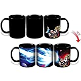 KEYIGOU Goku Dragon Ball Heat Color Changing Kamehameha Coffee Mug Heat Reactive Cup by KEYIGOU