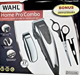 WAHL Home Pro Combo Complete Haircutting & Touch-Up Detail Kit, 27 Pieces