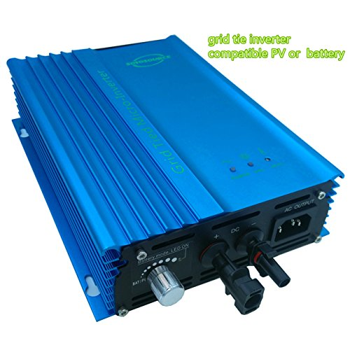 500W Solar inverter for home system for dc input 85-125V Grid Tied inverter To AC120V high efficiency or 72V Battery Adjustable Power Output(500W-ADJ-DC:80V-125V) by SOYOSOURCE