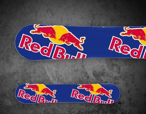 Aufkleber Stickers Für Snowboard Personalisierter Wrapping Redbull Red Bull Burton Stk18 Sport Freizeit