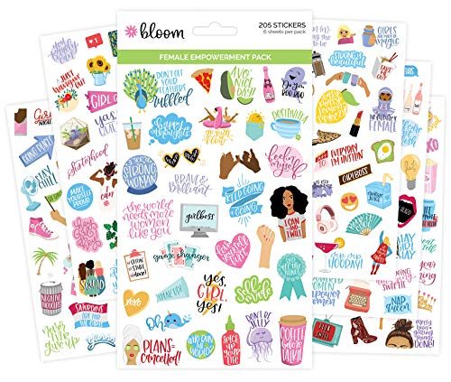 bloom daily planners Empowerment Stickers