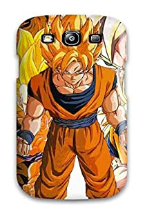 Anti-scratch Case Cover Protective Dbz Goku Case For Galaxy S3 1479298K53322213