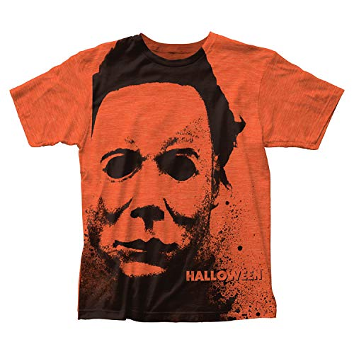 Halloween - Splatter Mask Subway T-Shirt]()