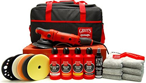 Griots Garage BOSS G21 Long-Throw Orbital Polisher Deluxe Kit