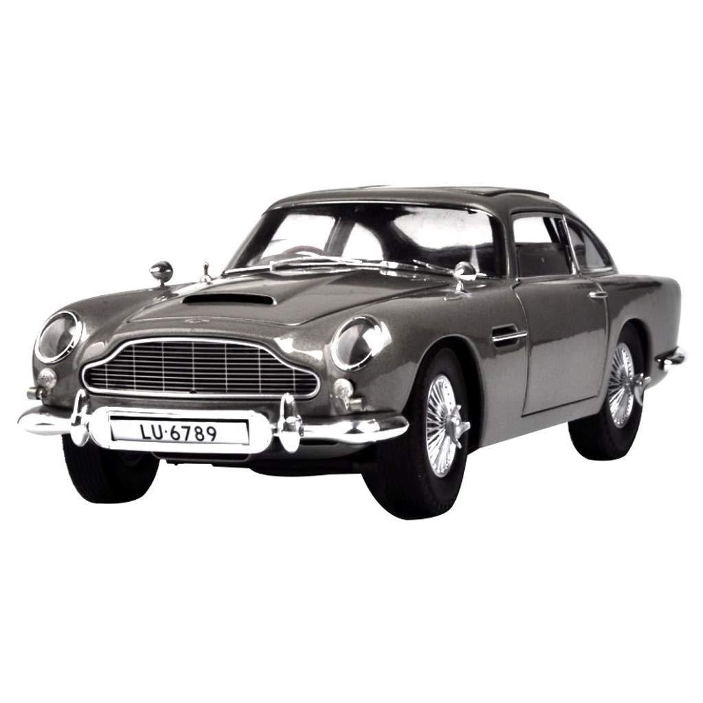 YaPin 1 18 Aston Martin DB5 Modèle De Voiture Simulation Sports voiture Metal Collection à Envoyer à Garçons Assemblés Jouet Cadeaux ( Couleur   Refined Version )