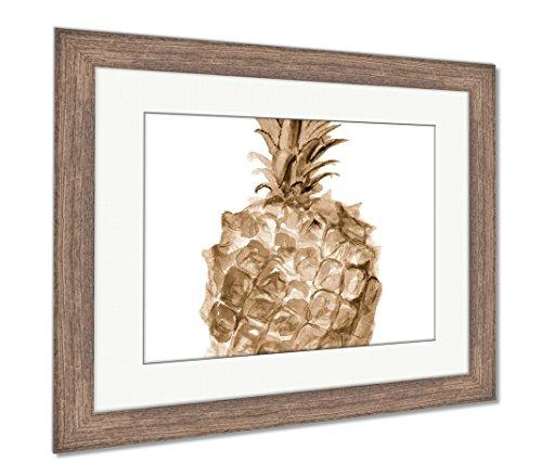 Ashley Framed Prints Pineapple, Wall Art Home Decoration