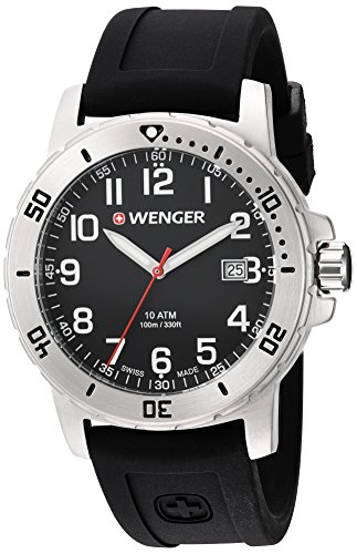 Wenger-Mens-Off-Road-Swiss-Quartz-Stainless-Steel-and-Silicone-Casual-Watch-ColorBlack-Model-011341102