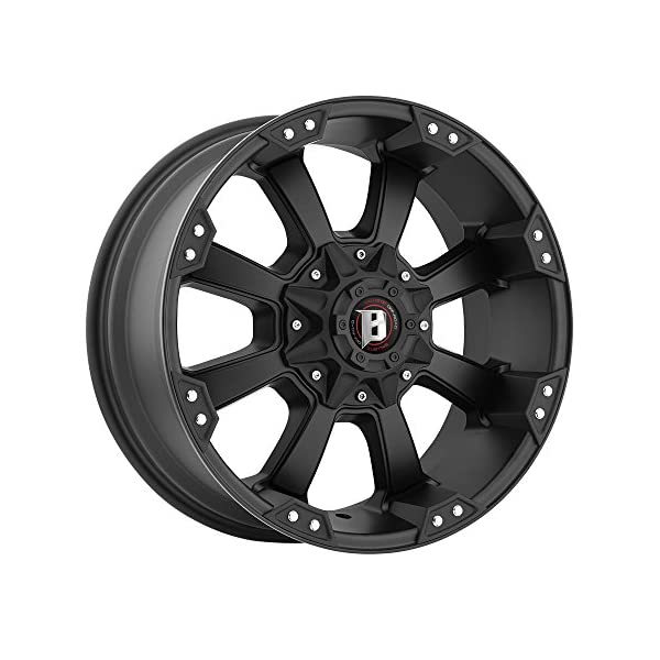 18X9-BALLISTIC-845-MORAX-Bolt-Pattern-6x135mm-and-6x1397mm-or-6x531in-and-6x55in-Offset-12mm-Finish-Flat-Black-CB-1004mm-MPN-845890267-12FB
