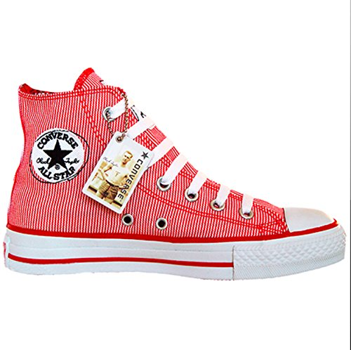 CONVERSE ALL STAR CHUCKS UK 6,5 EU 39,5 Rot Red LIMITED EDITION 102941