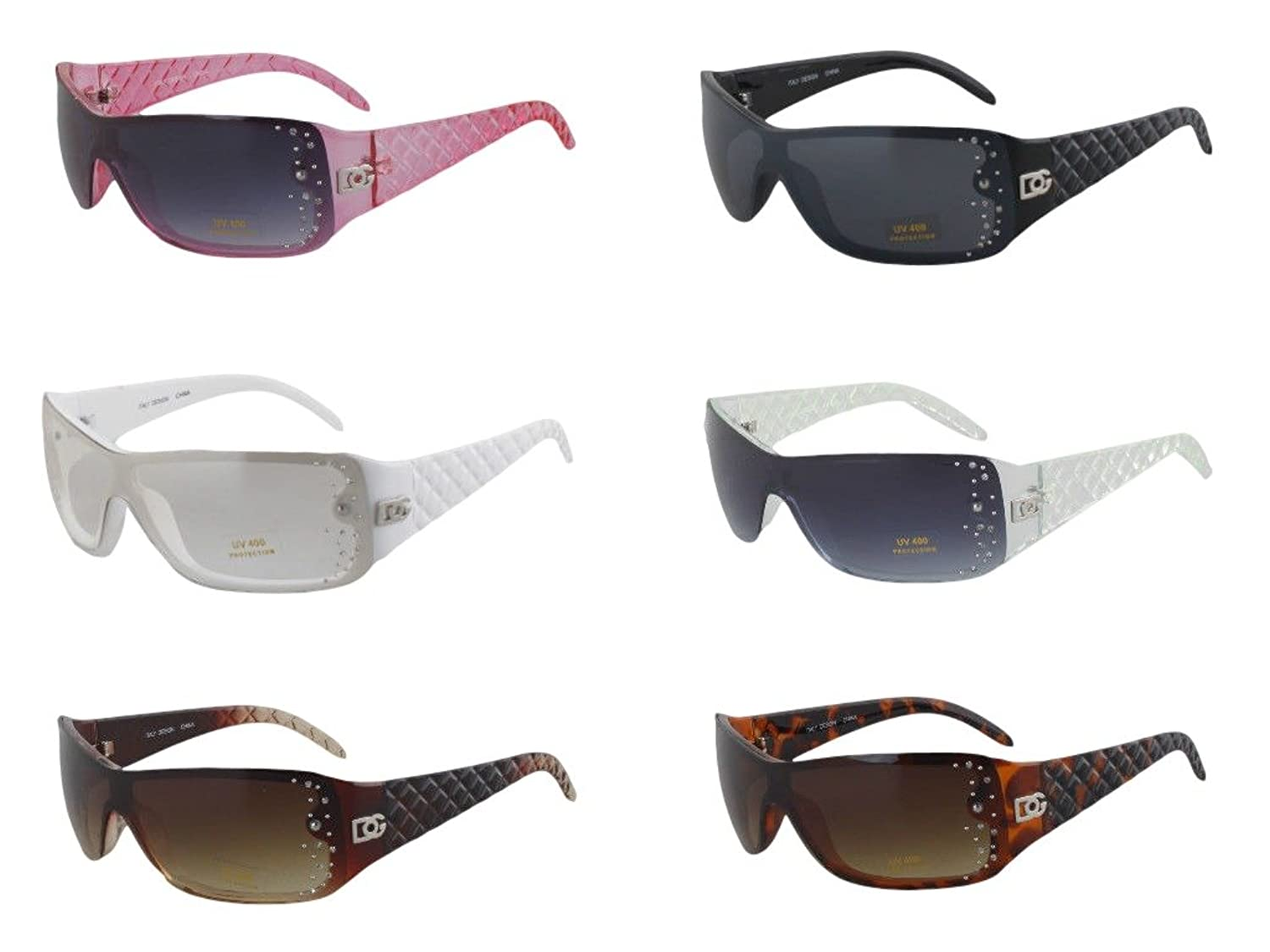 1f98ff351 wholesale lot New DG Eyewear 12 Pieces Assorted Womens Designer Sunglasses  Shades low-cost