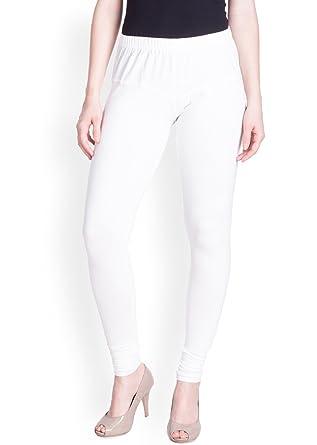 12dc22ae620d1 LUX LYRA Women's Leggings (LYRA IC Legg White 10_Free Size): Amazon ...