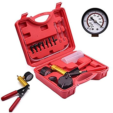 PRIT2016 Kit de herramientas de control manual de bomba de freno de mano con funda de transporte para automóvil, camión y moto: Amazon.es: Coche y moto