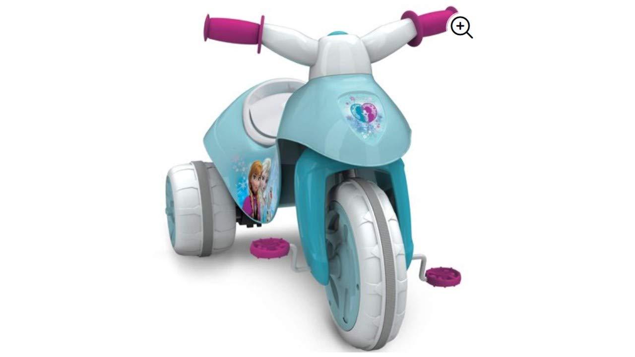 Amazon.com: Fun Huffy Disney Frozen 6 V Dual Power Triciclo ...