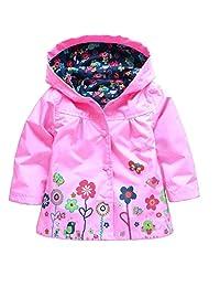 Dehutin 2017 New Waterproof Jacket For Baby Girls Boys Windproof Pants Raincoat For Children