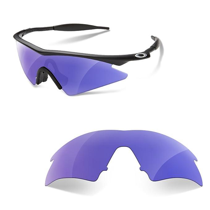 sunglasses restorer Lentes Polarizadas para Oakley M Frame Sweep (Color Morado Espejo)