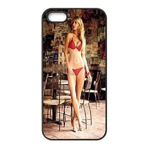 Ewelina Olczak Girl00X0 iPhone5s Cell Phone Case Black TPU Phone Case SV_293518
