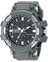 Men's TW5M22600 Tactic DGTL Big Combo Dark Gray/Negative...