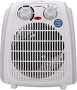 مدفئة مزودة بمروحة باستطاعة 2000 واط من اليكتا، ابيض EFH-2400