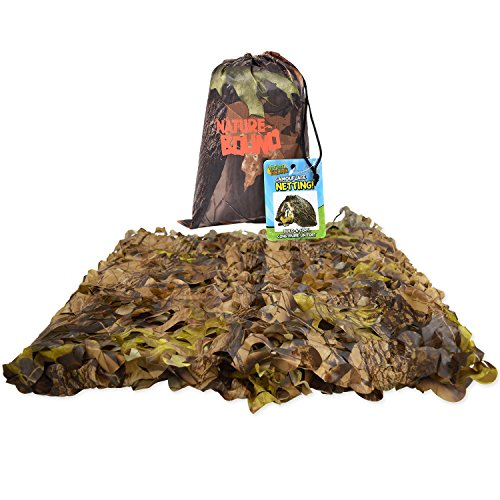 (Nature Bound Camo Netting Kids Fort, 5' x 9')