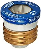 Bussmann T-15 15 Amp Type T Time-Delay Dual-Element Edison Base Plug Fuse, 125V UL Listed