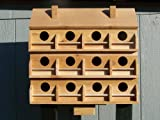 Purple Martin Deluxe Birdhouse with 12 Seperate Compartments X -large For Sale