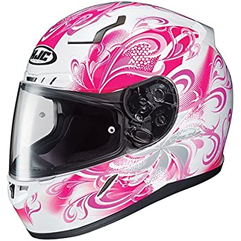 HJC CL-17 Cosmos - Womens Full-Face Street Motorcycle Helmet - Pink - Medium