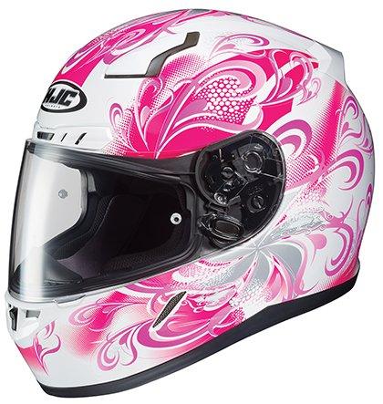 HJC CL-17 Cosmos - Womens' Full-Face Street Motorcycle Helmet - Pink - (Ladies Hjc Motorcycle)