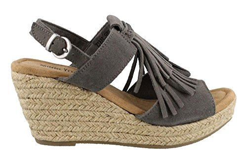free shipping excellent Minnetonka Womens Ashley II Grey Suede cheap shopping online jNtUHFV3