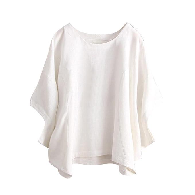 save off ee1b7 0be53 Bluestercool Blusa da Donna Estate Casual T-Shirt: Amazon.it ...