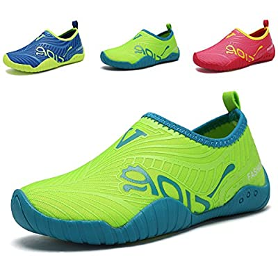 CIOR Boys Girls Water Shoes Slip on Athletic Walking Sport Aqua Socks(Toddler/Little Kid/Big Kid)