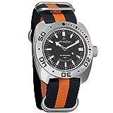 Vostok Amphibian Automatic Mens WristWatch Self-winding Military Diver Amphibia Ministry Case Wrist Watch