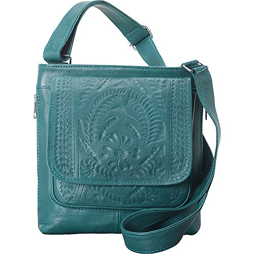 ropin-west-crossover-conceal-weapon-purse-turquoise