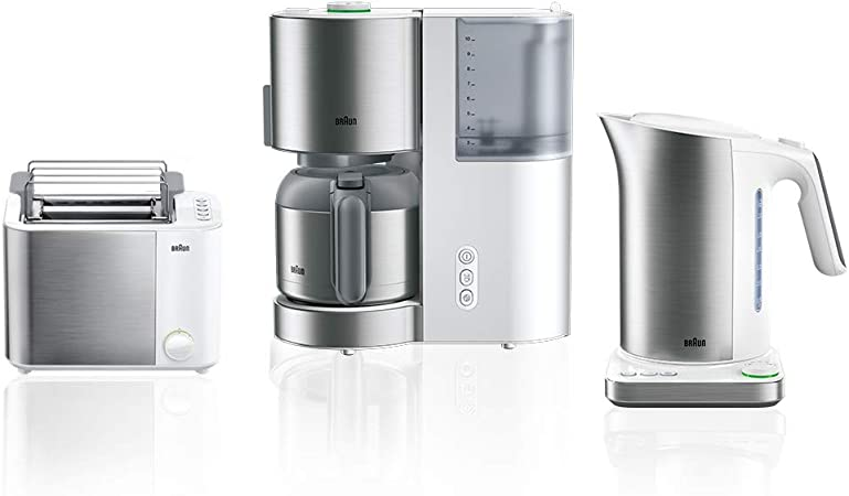 Braun Household IDCollection - Cafetera eléctrica Blanco: Amazon ...