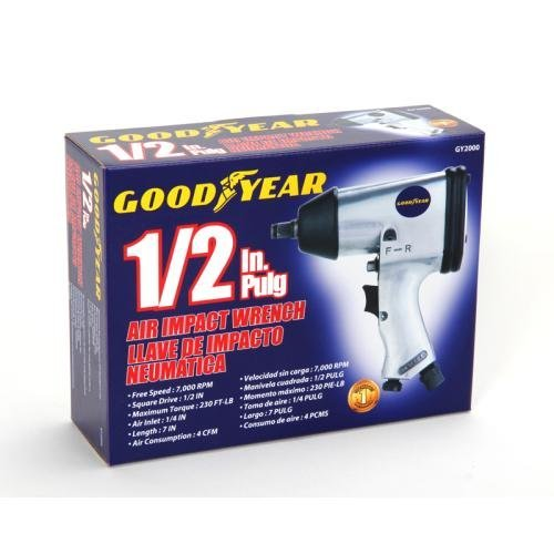 GoodYear 1/2-inch Air Impact Wrench