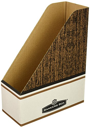 Fellowes Corrugated Box - Bankers Box® Magazine File FILE,MAG,LETTER SIZE (Pack of5)
