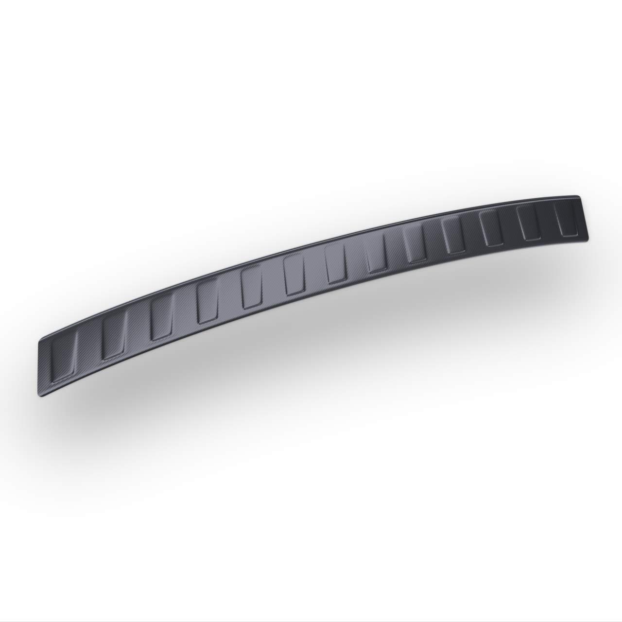 5902538663786 Protezione paraurti auto in acciaio Lamina di carbonio