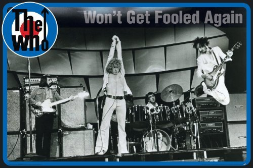 NMR 24644 The Who Won't Get Fooled Decorative Poster from RhythmHound