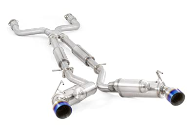 3. ARK Performance SM0901-0209G GRiP Exhaust System (Burnt Tip Nissan 370Z)