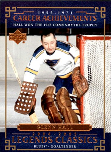 2004-05 UD Classic Legends St Louis Blues Team Set 2 cards (both Glenn Hall)