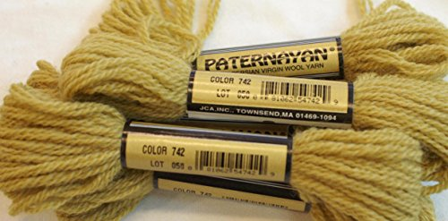 Paternayan Needlepoint 3 Ply Wool Yarn Color 742 Tobacco This Listing Is For 2 Mini 8 Yd Skeins