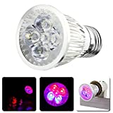 Alloet E27 AC 110V / 220V 10W Full Spectrum LED Plant Growing Lamp Electricity Saving with Higher-level Efficiency For Sale