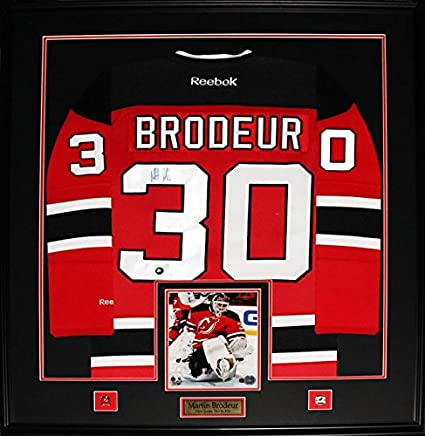 Martin Brodeur New Jersey Devils Signed Jersey Nhl Hockey Collector