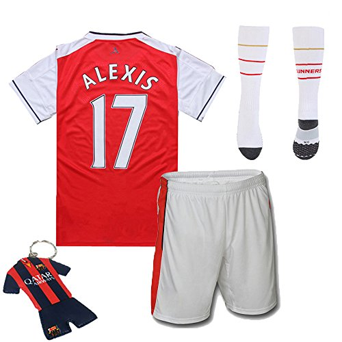promo code 8c58a 445ec FC FirstClass 2017 Football Soccer Kit Home Alexis #17 Arsenal - Import It  All