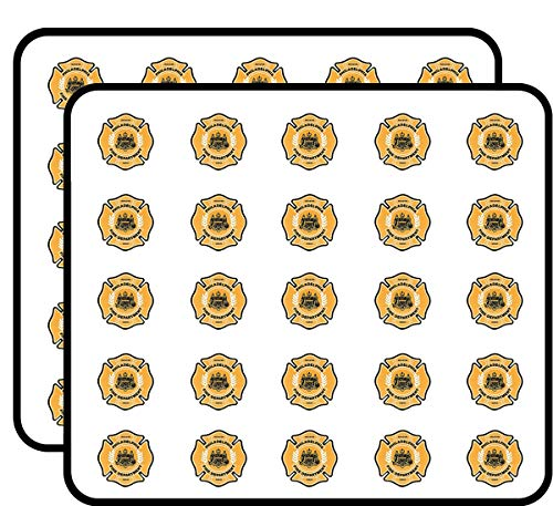 Philadelphia Phillies Calendars - Philadelphia Fire Dept Maltese Shaped (Firefighter Rescue Philly pa) Sticker for Scrapbooking, Calendars, Arts, Kids DIY Crafts, Album, Bullet Journals